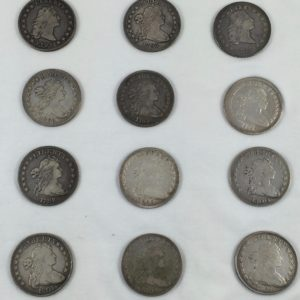 1795-1803 Early Dollar Set Of 12 Coins