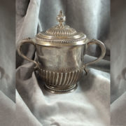 English 2-Handle Silver Cup - Full View